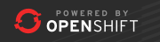 Powered by OpenShift